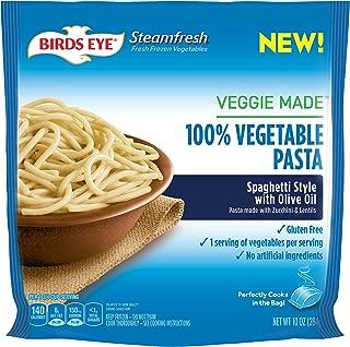 Birds Eye Steamfresh Veggie Made 100% Vegetable Pasta, Spaghetti with Olive Oil, 10 Ounce (Frozen)