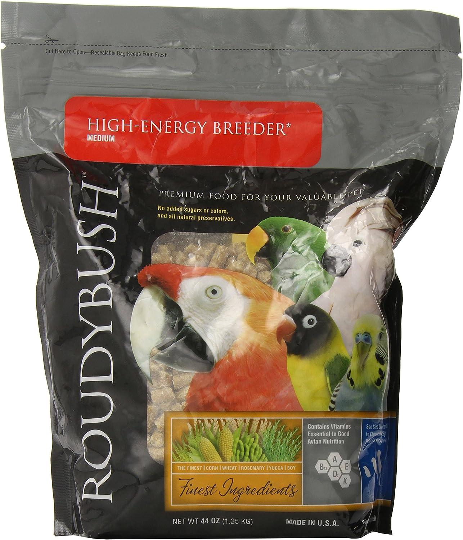 Roudybush High Energy Breeder Bird Food, Medium, 44Ounce