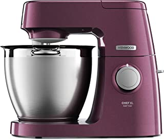 Kenwood 凯伍德 KQL6300V Chef Sense Impastatrice Planetaria,1400 W,金属,紫色