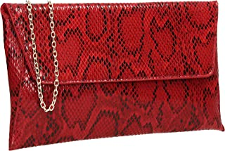 Best red snakeskin purse Reviews