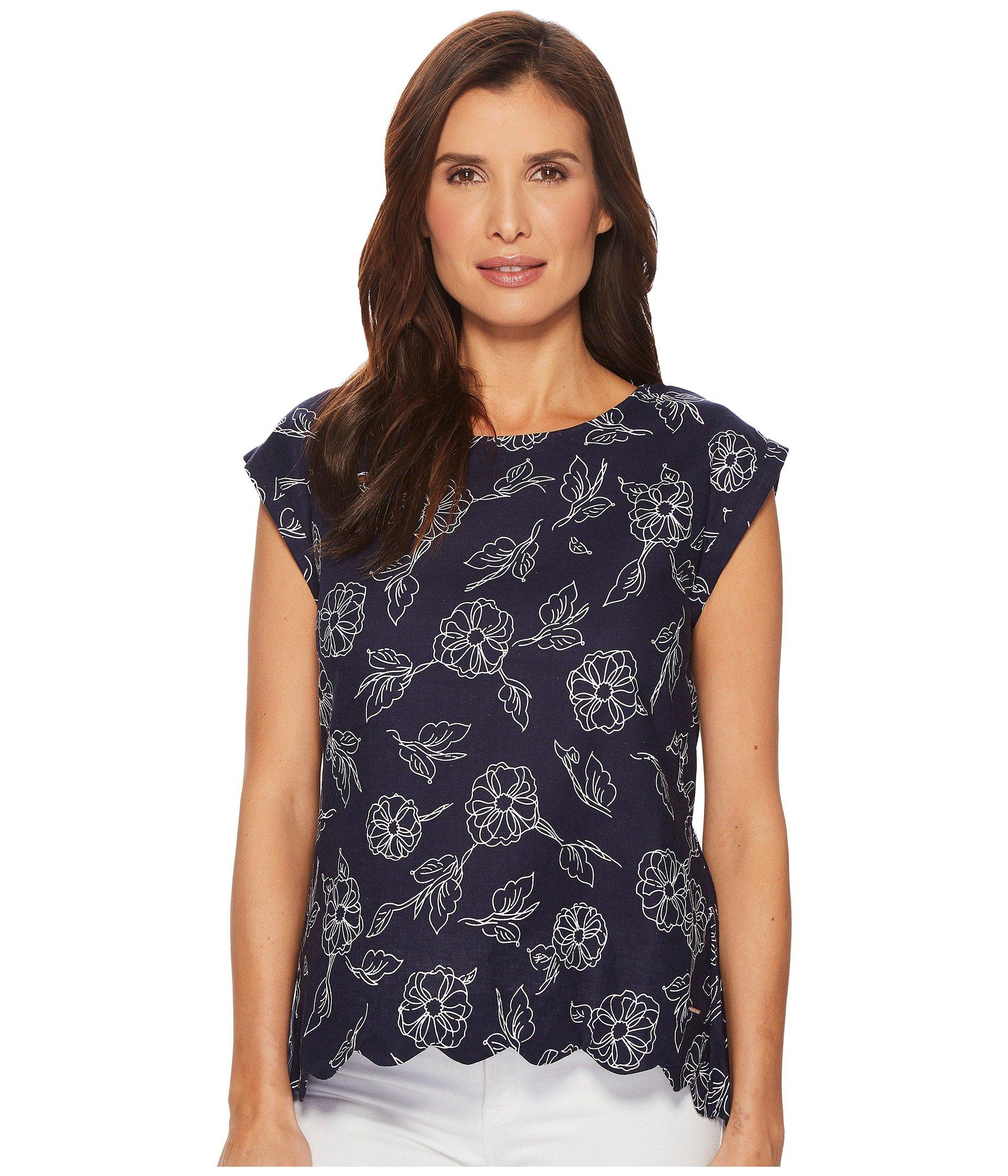Blusa para Mujer U.S. POLO ASSN. Flower Top  + U.S. POLO ASSN. en VeoyCompro.net