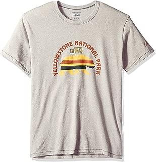 Men's Short Sleeve Yellowstone Park T-Shirt