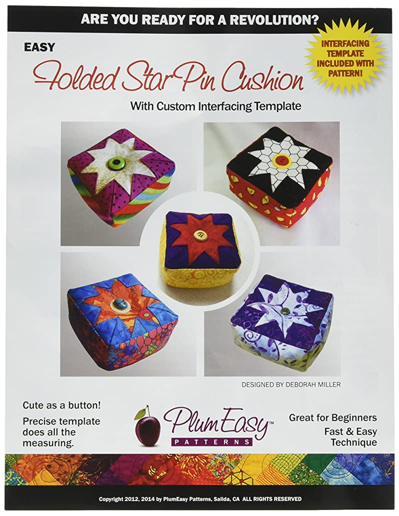 PlumEasy Patterns Pin Cushion