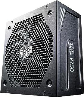 Cooler Master V750 Gold V2, UK Plug - 750W, 80 Plus Gold, Fully Modular, ATX Power Supply Unit, Quiet 135mm FDB Fan, Semi-...