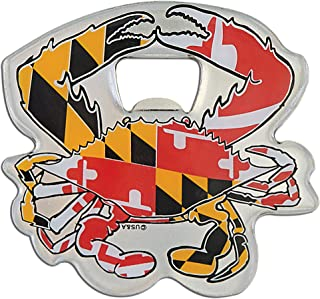 Bottle Opener Magnet Flag Crab Maryland