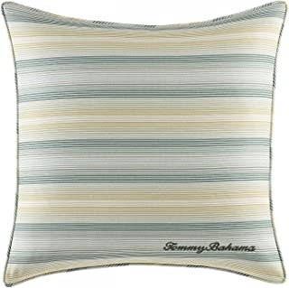 Tommy Bahama Cuba Cabana Green Square Pillow, 18In