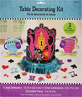 amscan Mad Tea Party Table Decorating Kit