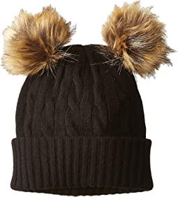 Polo Ralph Lauren - Double Pom Cashmere Blend Hat