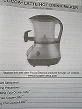 Back to Basics Cocoa-Latte Hot Drink Maker Instruction Manual w/ Recipe Cookbook 2008