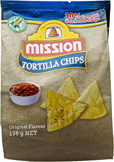 Mission Triangle Yellow Fried Chips, Original, 170g