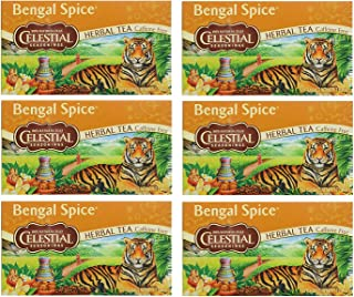 Celestial Seasonings Herbal Tea, Bengal Spice,(6 Pack)