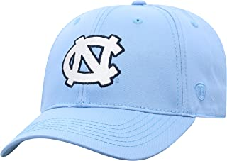 University of North Carolina UNC Tar Heels White Camo Reflector Top One Fit Womens//Mens Baseball Hat//Cap Size Medium Large