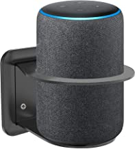 Wall Mount for Eco Plus 2nd Gen, Eco (2nd Generation or 3rd Generation), Google Home, Holder Stand with Cord Management, Space Saving Accessories - Black - by Nebudo