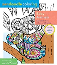 Zendoodle Coloring: Baby Animals: Adorable Critters to Color and Display