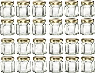Best 1.5 oz glass jars wholesale Reviews