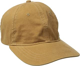 San Diego Hat Company Women's Washed Ball Cap with Adjustable Leather Back