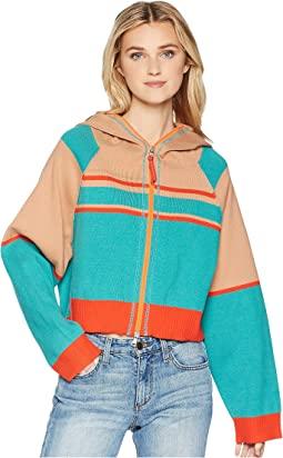 Stripes for Days Zip-Up