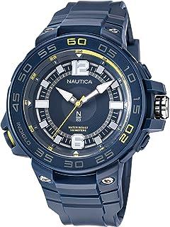 Nautica Men's Quartz Polyurethane Strap, Blue, 28 Casual Watch (Model: NAPCNF106)
