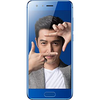HUAWEI Honor 9 STF-AL10 5.15 inch Kirin 960 Dual 20 MP + 12 MP (6GB+64GB) Smartphone (Charm Sea Blue) - International Version, No Warranty in the US, No Google Play Installed