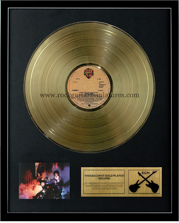 RGM1038 Prince Purple Rain gold Plated LP 12