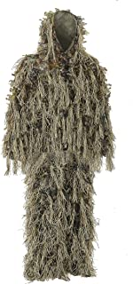 Ghillie Suit for Hunting Dry Grass Brown Ideal for Hunting in Winter and Autumn