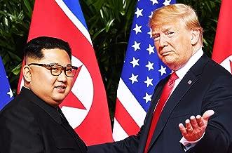 President Donald J Trump and Chairman Kim Jong Un Photo Art Photos Artwork 8x12