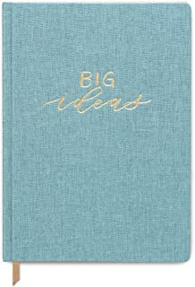 DesignWorks Ink Cloth Covered Journal, Seafoam- Big Ideas