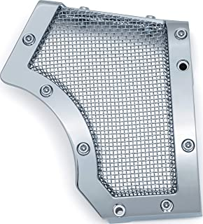 Kuryakyn 6554 Motorcycle Accent Accessory: Mesh Front Pulley Cover for 2004-19 Harley-Davidson XL Motorcycles,  Chrome