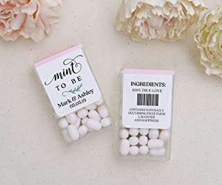 personalized tic tac wedding favors