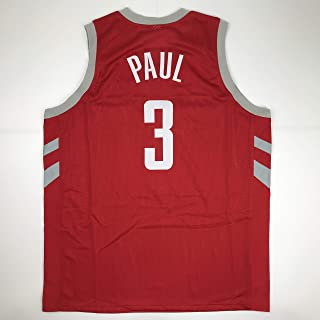 add78685519 Unsigned Chris Paul Houston Red Custom Stitched Basketball Jersey Size  Men s XL New No Brands