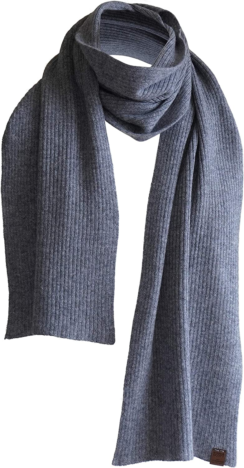 Pure Cashmere Scarf - 100% Cashmere - Made in Nepal