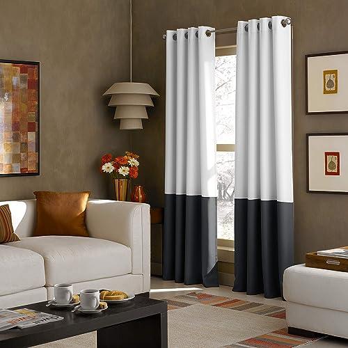 Modern Window Curtains: Amazon.com