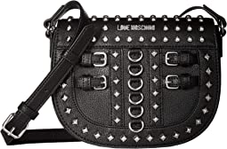 Crossbody Bag with Belt Studs