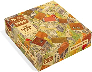 The Sunny City 1000 pc Jigsaw Puzzle from The Magic Puzzle Company