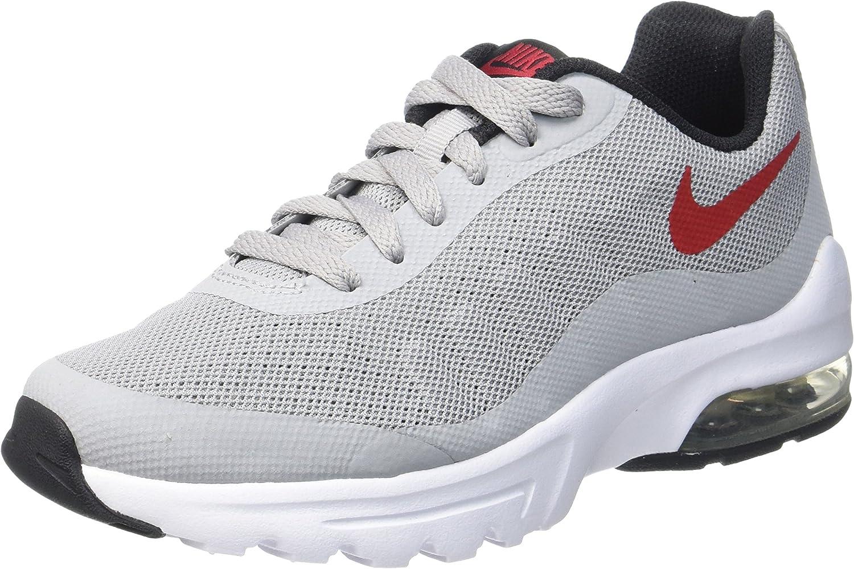 Nike Boys Air Max Invigor (GS) Running Shoes – Black - Grey - 36 ...