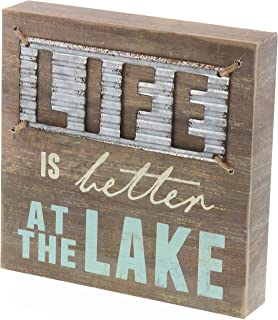 lake signs for cabins