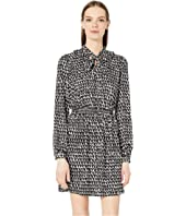 Kate Spade New York - Pop Scallop Crepe Dress