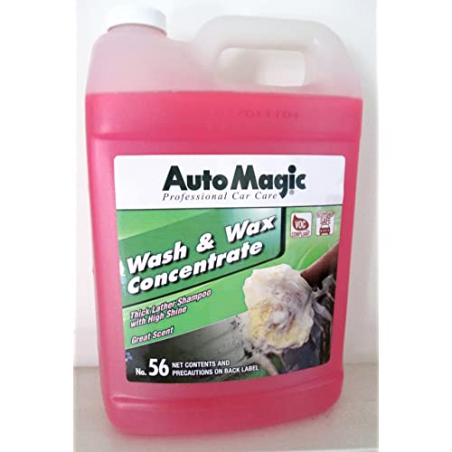 Amazon.com: Auto Magic Wash & Wax Concentrate, Soap & Wax, 1 GAL: Automotive
