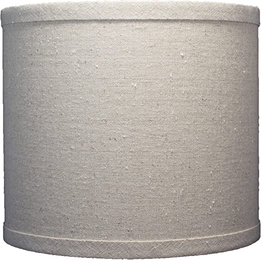 Urbanest Linen Drum Lamp Shade 8 Inch By 8 Inch By 7 Inch Natural Spider Amazon Com