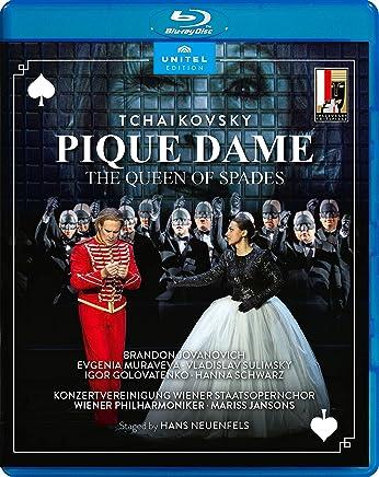チャイコフスキー : 歌劇≪スペードの女王≫ / ザルツブルク音楽祭 2018年 / ウィーン・フィルハーモニー管弦楽団 | マリス・ヤンソンス (Tchaikovsky: Pique Dame at Salzburg Festival2018) [Blu-ray] [Import] [日本語帯・解説付]
