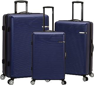 Rockland Skyline - Juego de 3 maletas para abdominales no expandibles