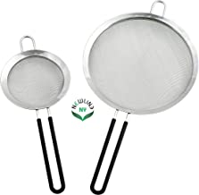 NewlineNY Stainless Steel Kitchen Tools (Mesh Strainers 2 Pcs)