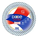Dixie Ultra Paper Plates, 8 1/2 inch, 64 count, Lunch or Light Dinner Size Disposable Plates