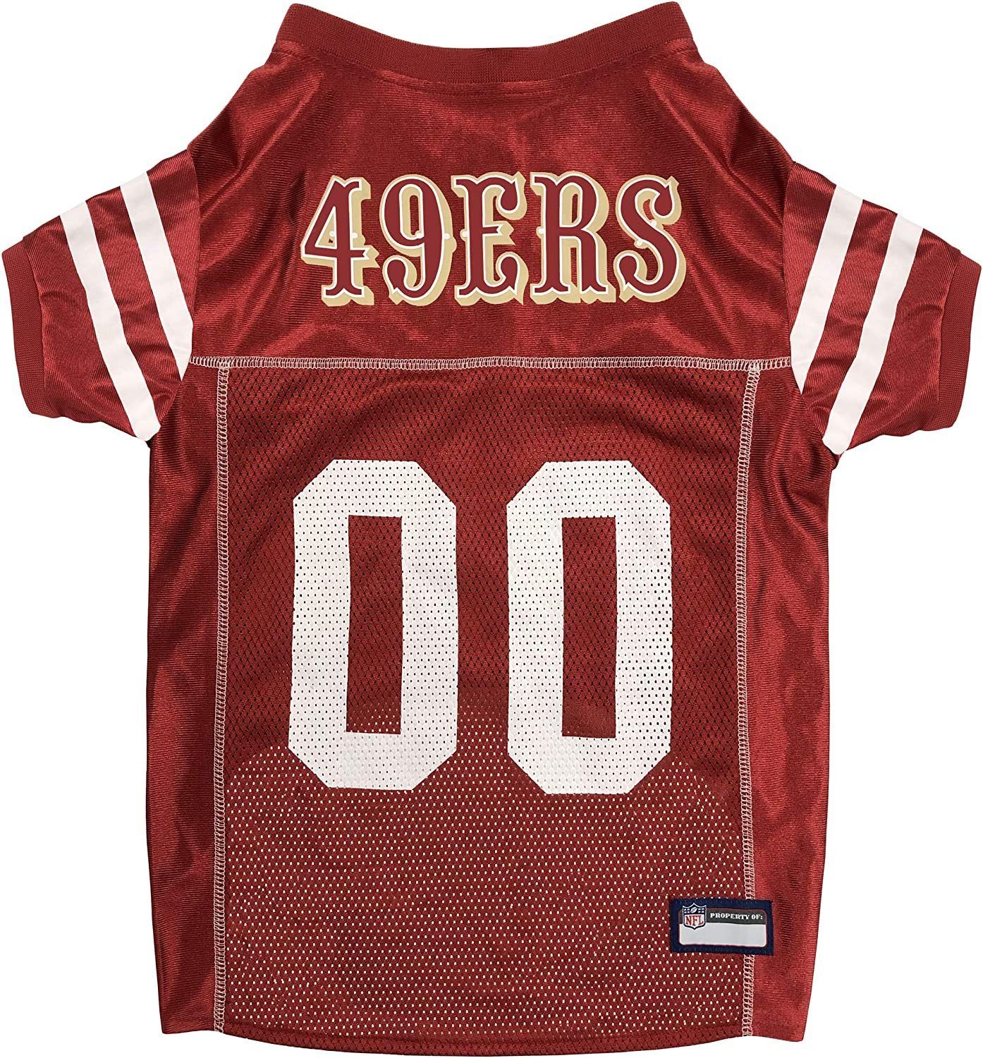 Fanmats Max 81% OFF New mail order NFL SAN Francisco 49ERS Dog Jersey