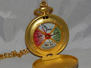 The Polar Express Conductor's Pocket Watch Working Movie Replica