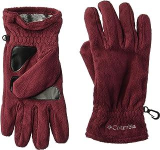 Columbia Women's Gloves Hotdots Gloves, Rich Wine, Large