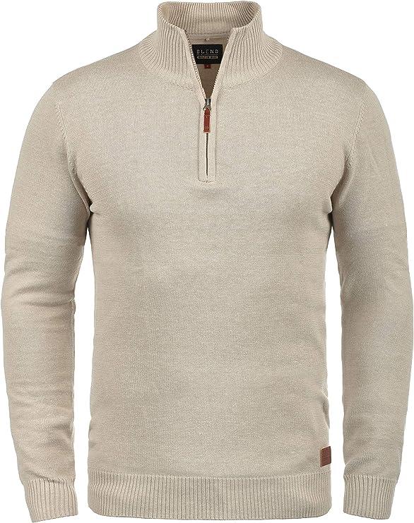 Troyer per autunno//inverno//primavera Polo ASSN elegante a maniche lunghe Maglione da uomo con collo alto U.S per il tempo libero e il lavoro