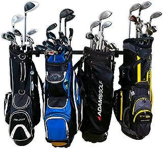 StoreYourBoard Omni Golf Organizer, Garage Storage Rack, Adjustable Wall Mounted Hanger, Golf Bags and Accessories