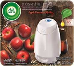 Air Wick Essential Mist, Essential Oil Diffuser, (Diffuser + 1 Refill), Apple Cinnamon..
