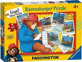 Genuine Paddington! Paddington Bear Jigsaw 60 The Movie Giant Floor Puzzle